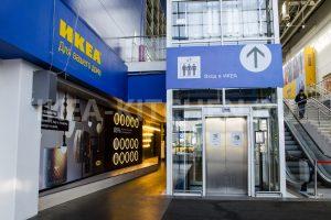 Лифт в ИКЕА Белая Дача