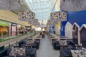 Второй этаж ресторана ИКЕА Парнас