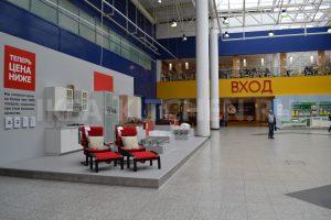 Выставка мебели в ИКЕА Дыбенко