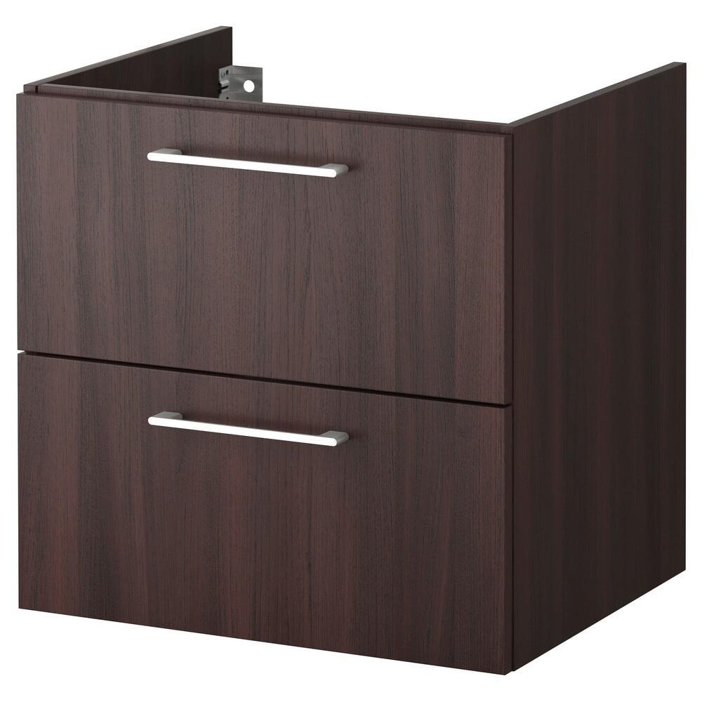 Шкаф для раковины с 2 ящиками ГОДМОРГОН