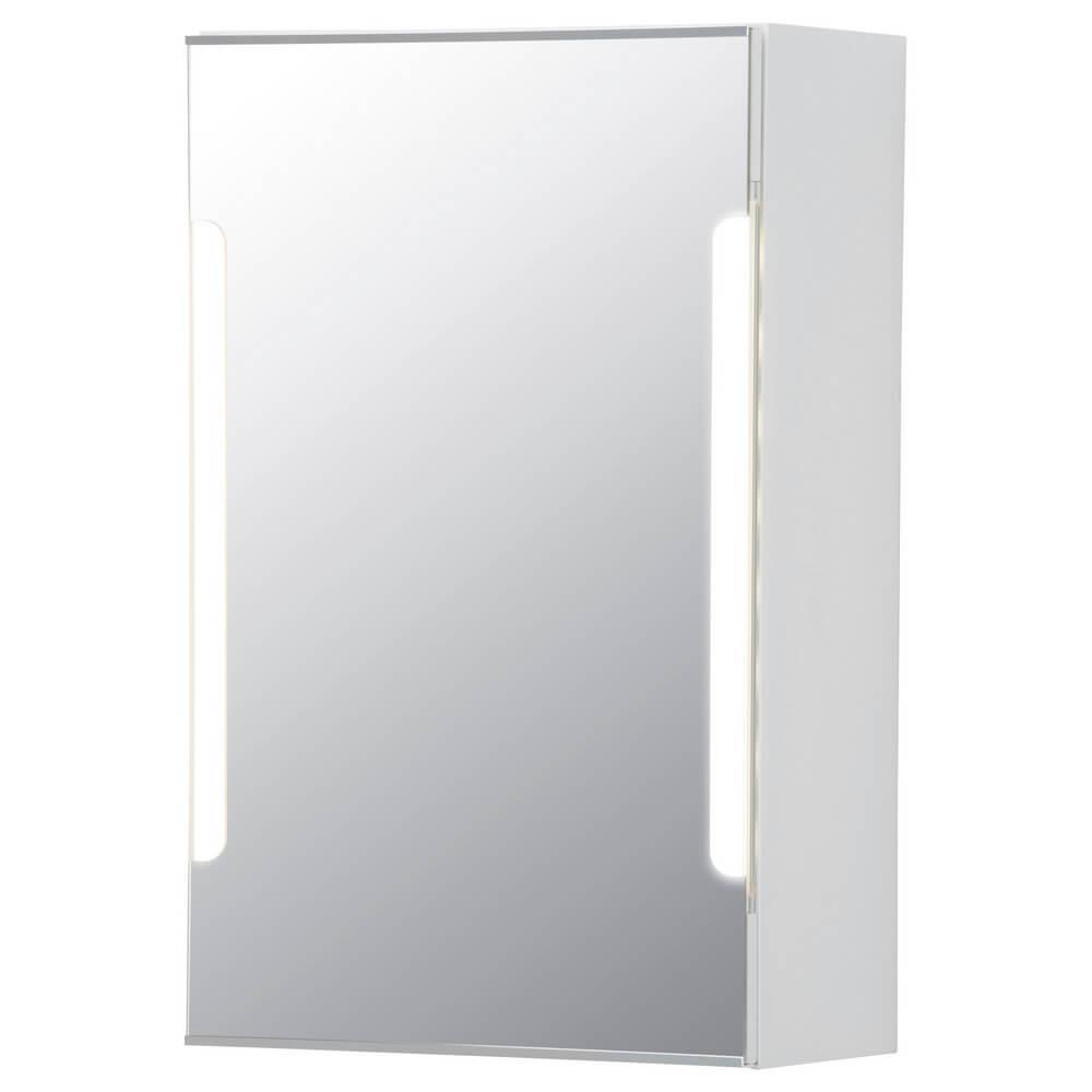 Зеркальный шкафчик с дверцей и подсветкой СТОРЙОРМ