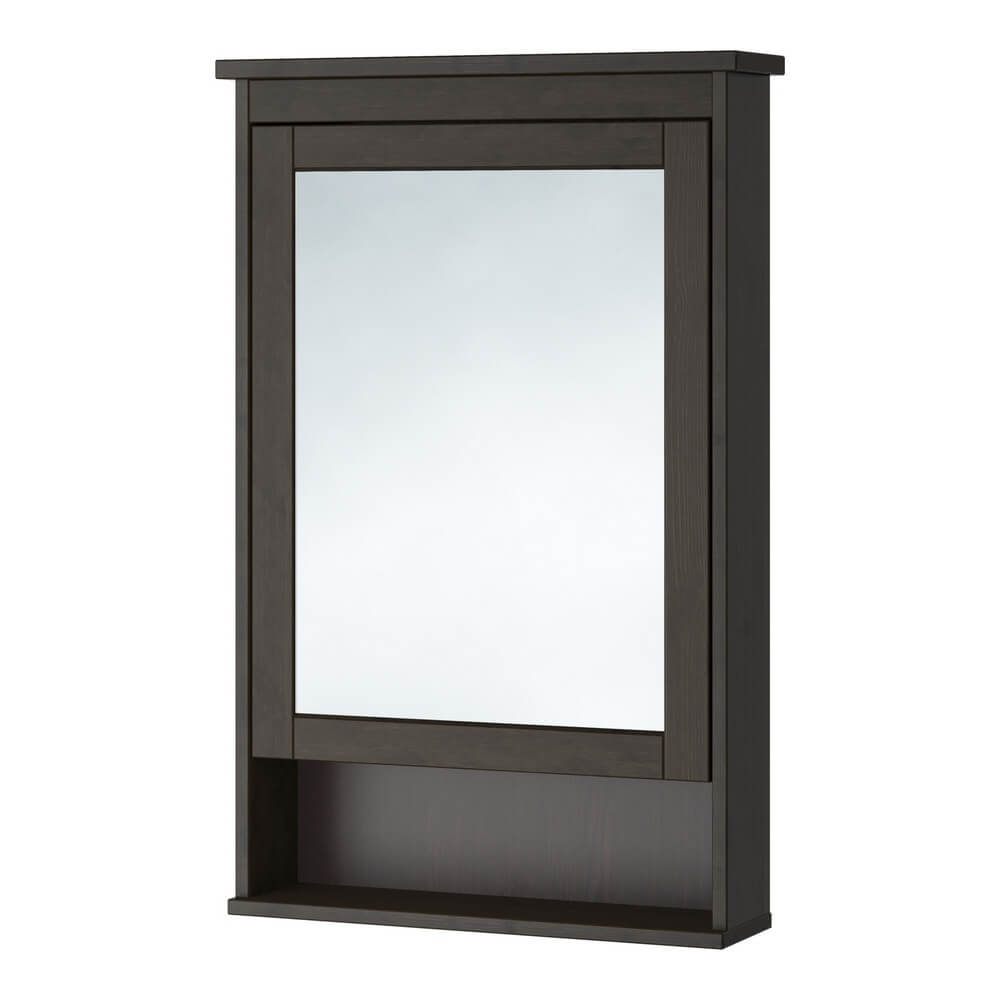 Зеркальный шкаф с 1 дверцей ХЕМНЭС