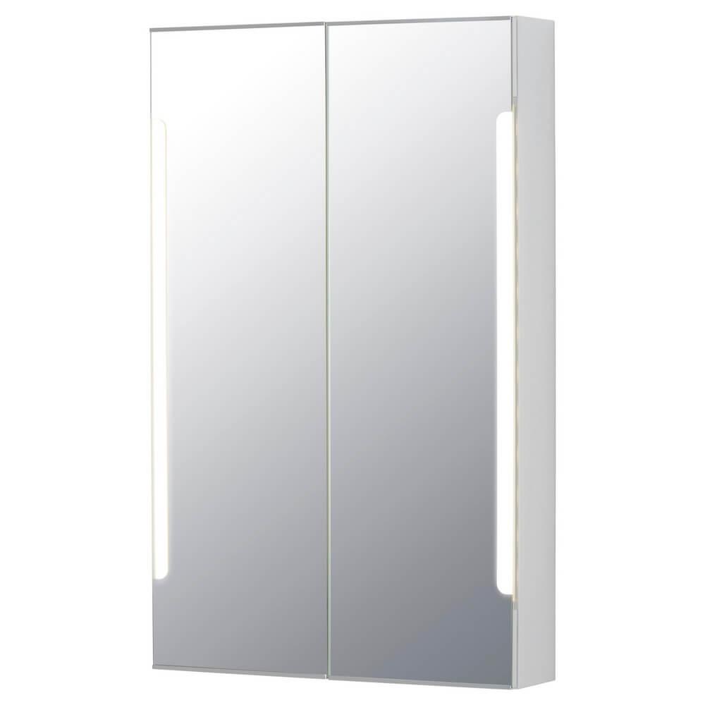 Зеркальный шкафчик с 2 дверцами и подсветкой СТОРЙОРМ
