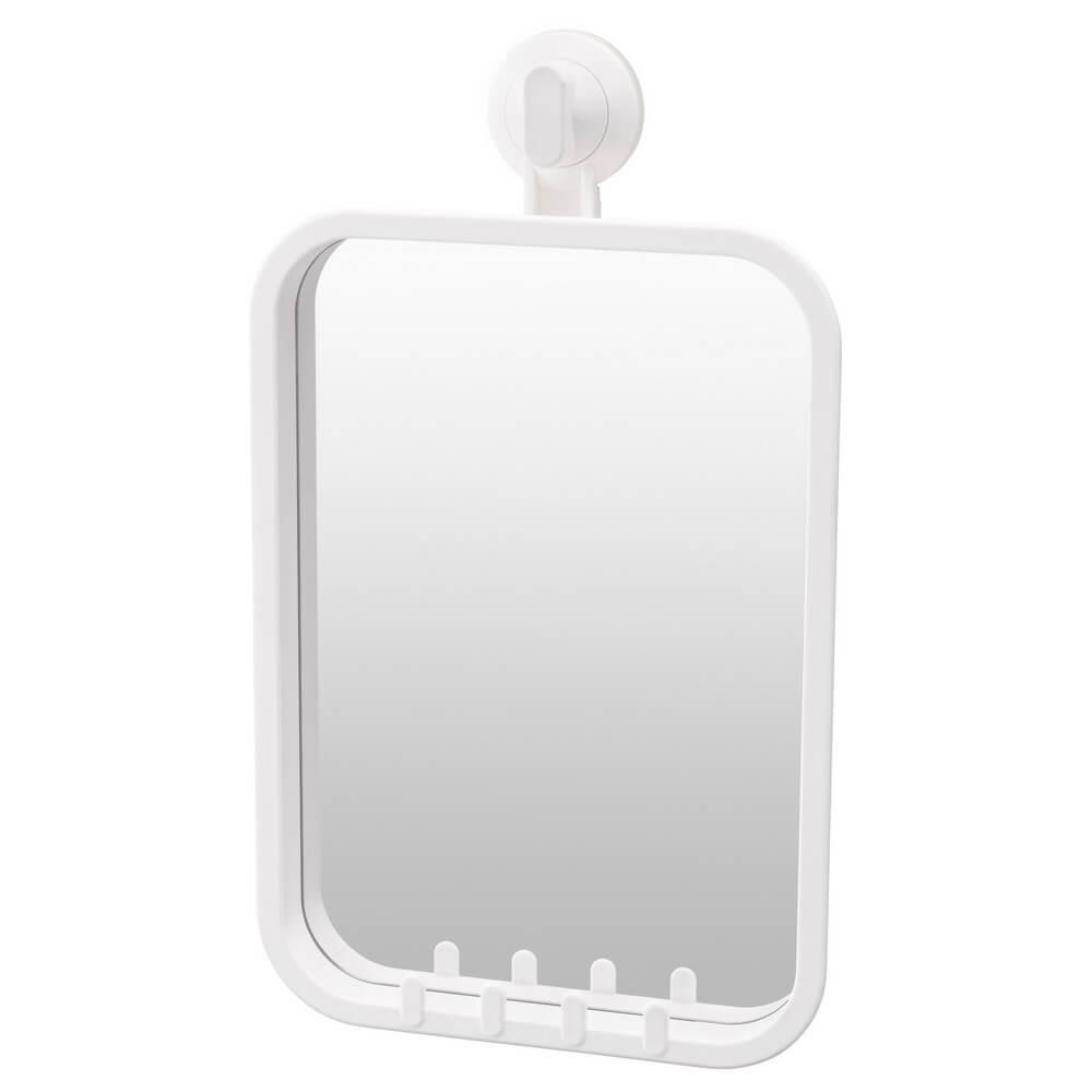 Зеркало с крючками на присоске СТУГВИК