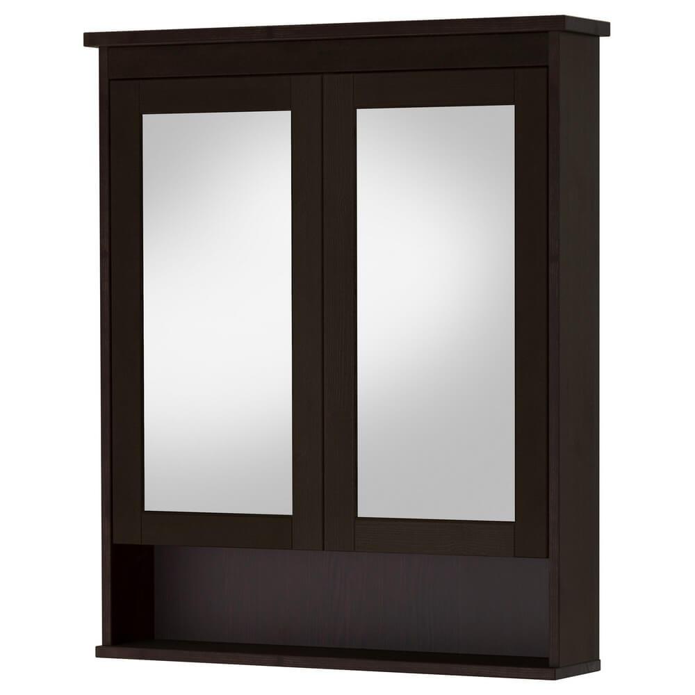 Зеркальный шкаф с 2 дверцами ХЕМНЭС