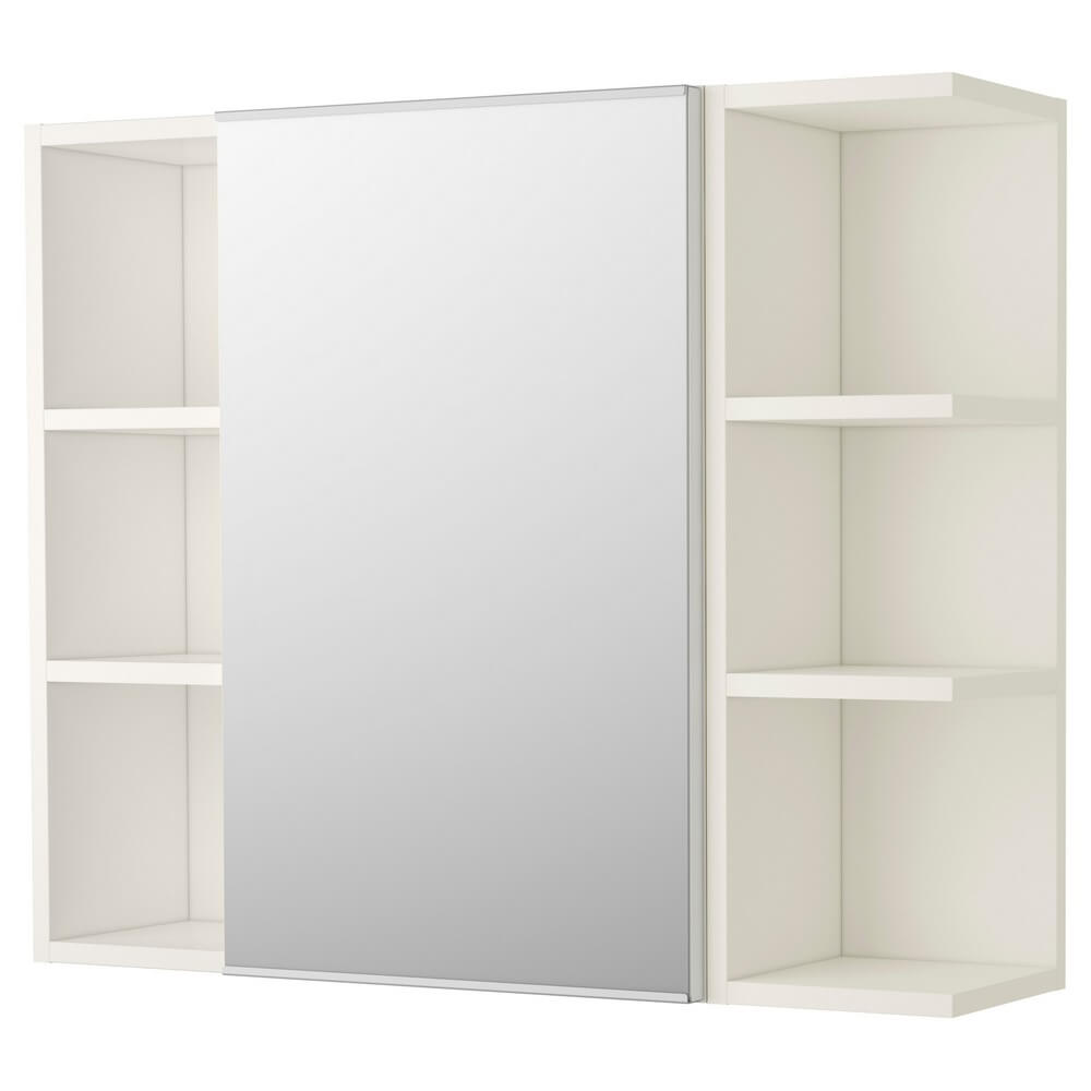 Шкафчик зеркальный с (1 дверцей) ЛИЛЛОНГЕН