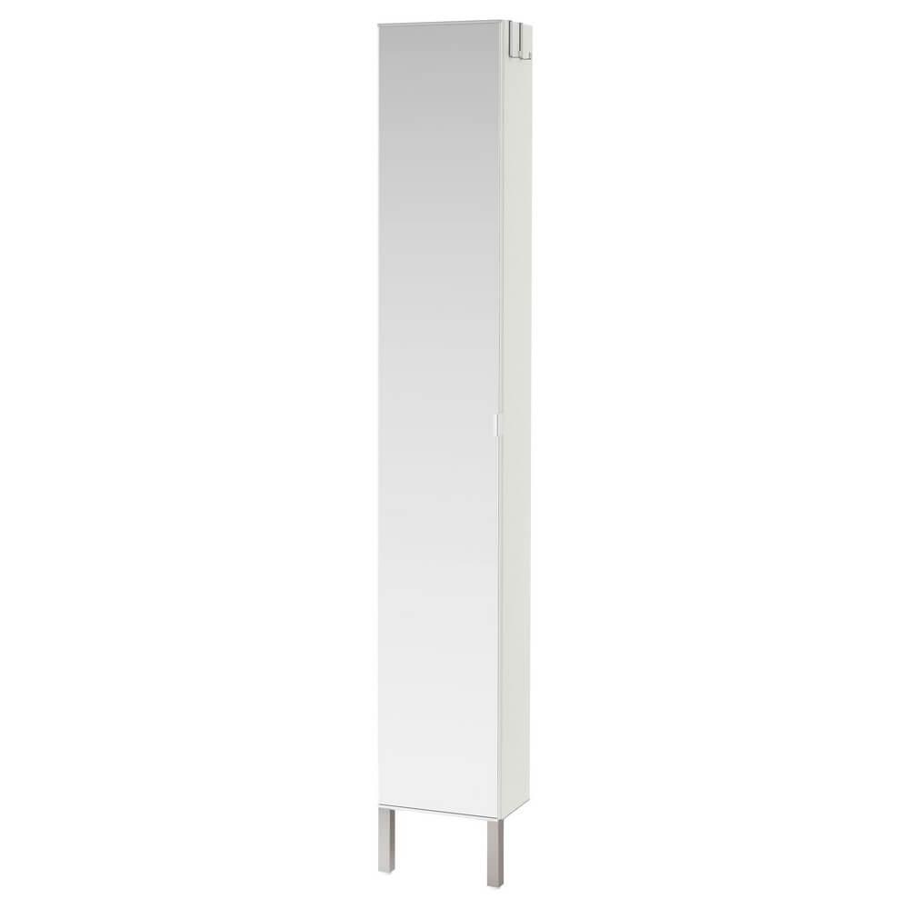 Высокий шкаф с зеркальной дверцей ЛИЛЛОНГЕН