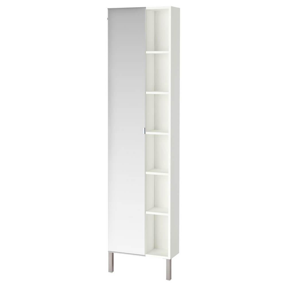 Шкафчик зеркальный с 1 дверцей и 1 торцевой секцией ЛИЛЛОНГЕН