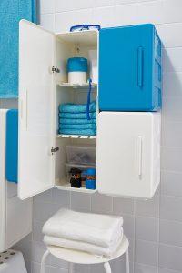 Дизайнерские шкафы в ванную