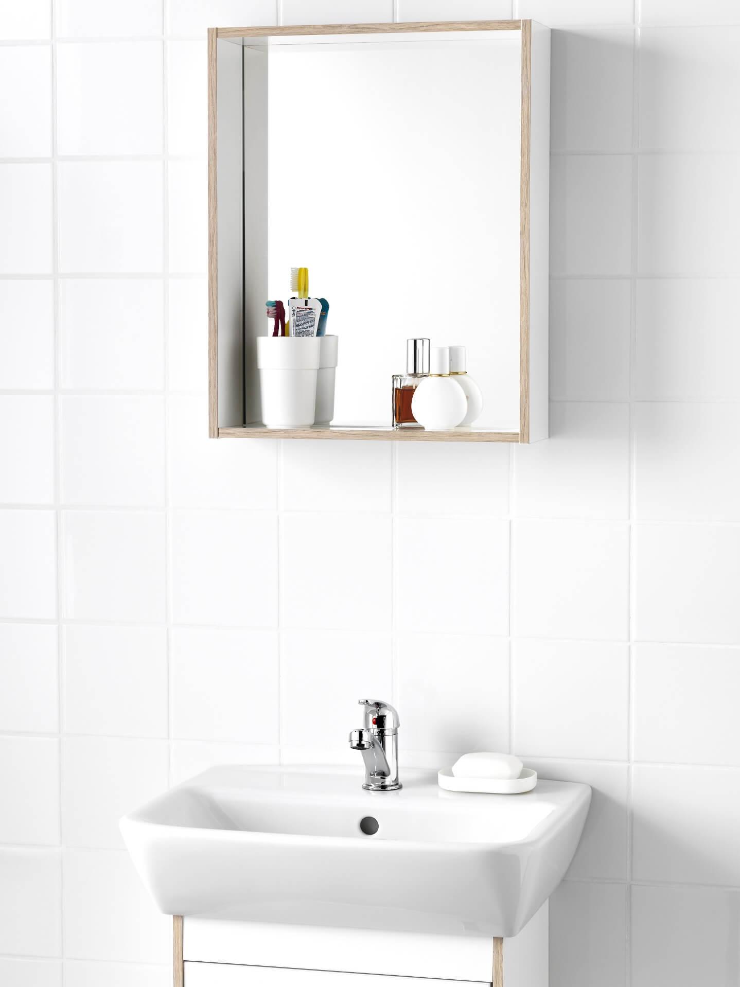 зеркало в ванную комнату от Ikea ванные икеа