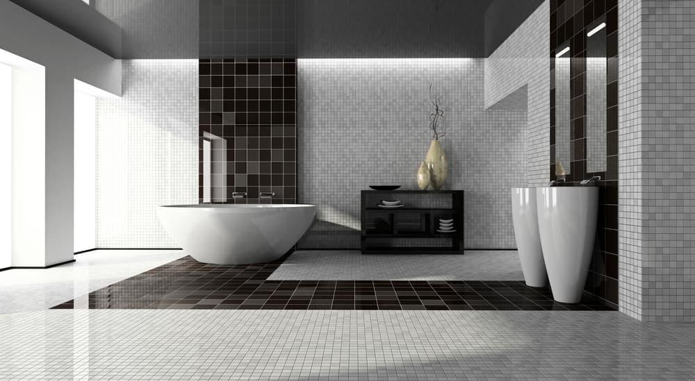 Армирование стен в ванной комнате