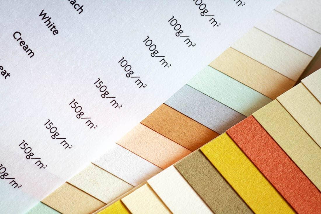 Наиболее распространенные типы бумаги
